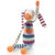 Pebble Organic Fair Trade Hand Knit Toy - Rainbow Bunny