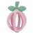 Itzy Ritzy Silicone Teething Ball & Training Toothbrush - Pink Lemonade