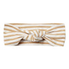 Quincy Mae Organic Baby Turban Honey Stripe