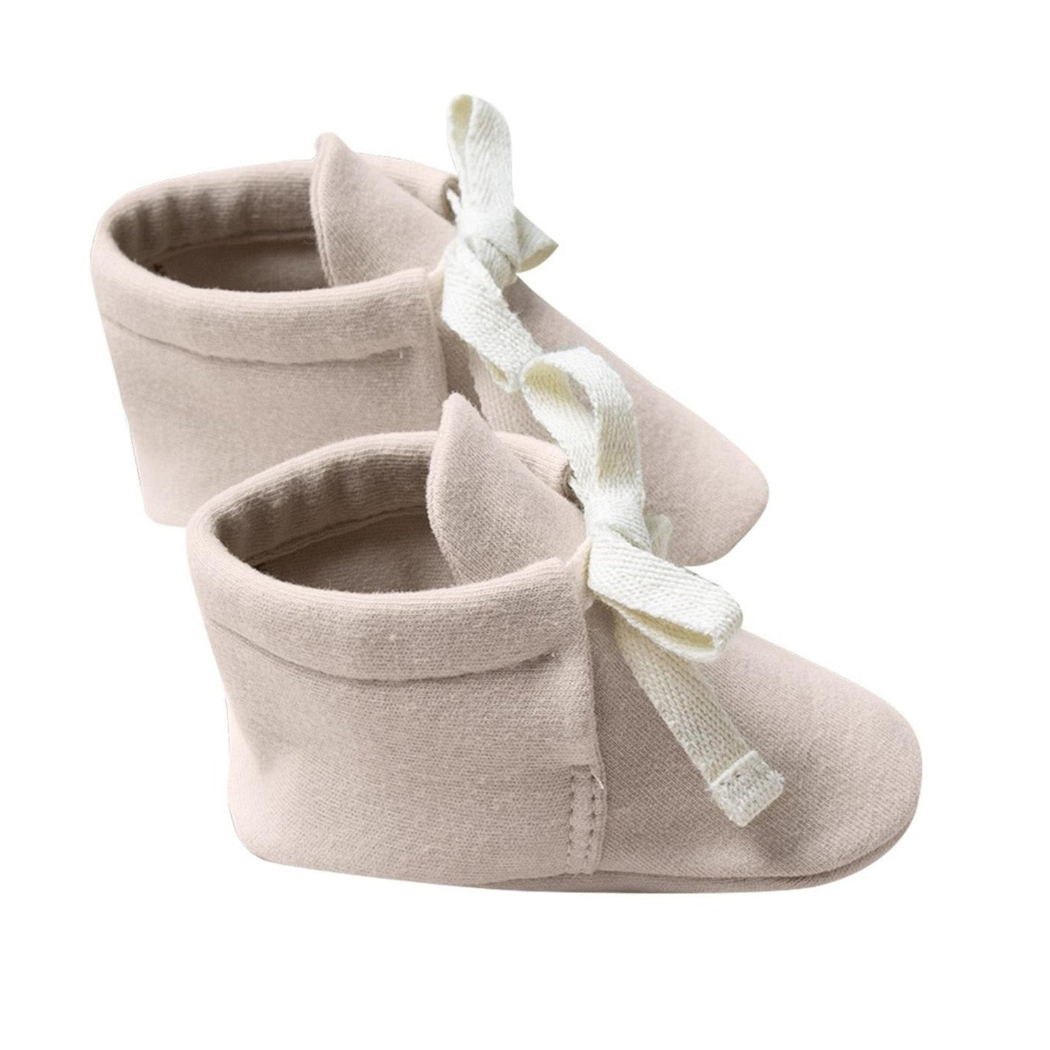 Quincy Mae Organic Baby Booties Rose