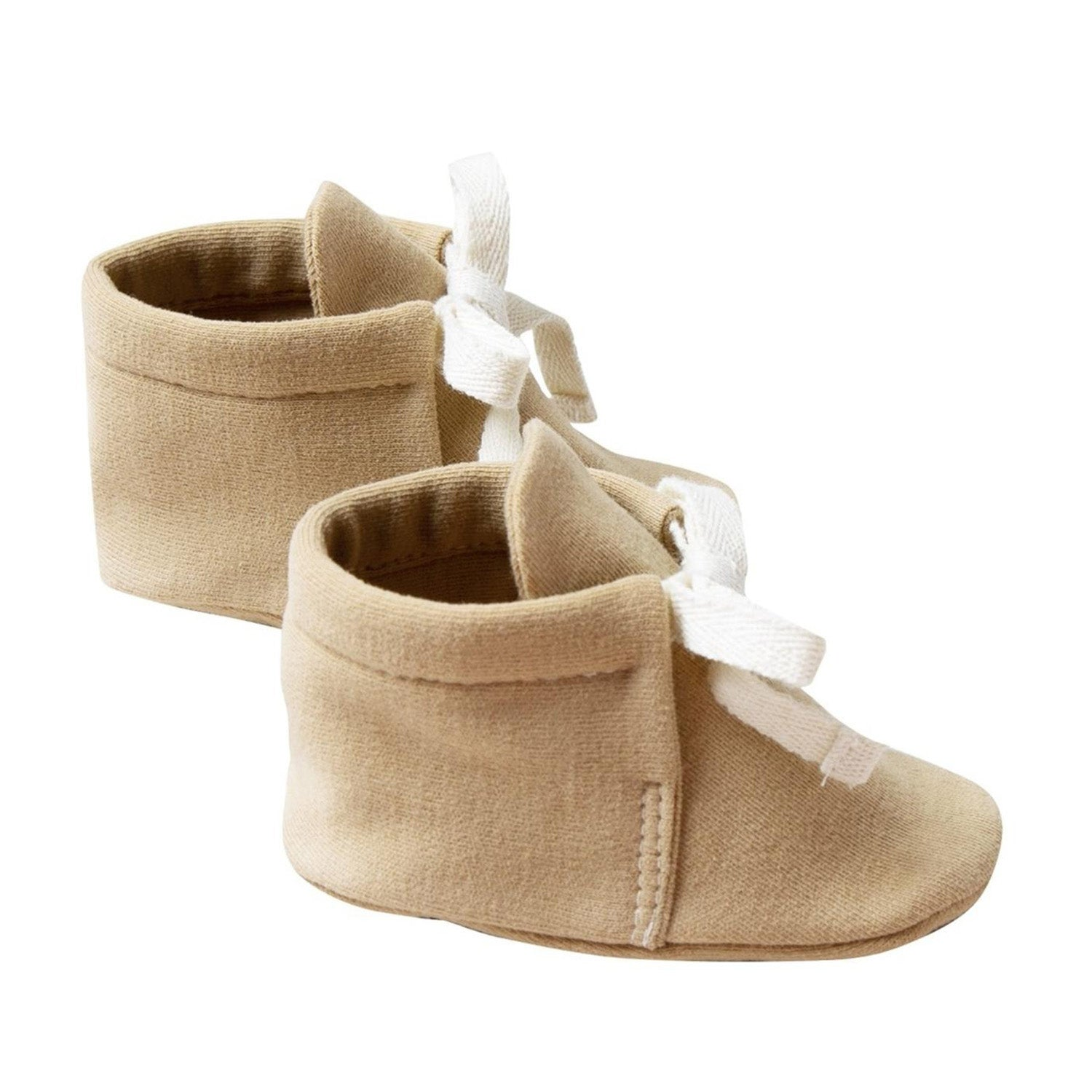 Quincy Mae Organic Baby Booties Honey
