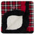 KicKee Pants Stroller Blanket - Crimson 2020 Holiday Plaid
