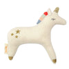 Meri Meri Organic Cotton Baby Rattle Unicorn