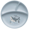 Suction Cup Silicone Baby Plate - Shark