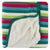 KicKee Pants Stroller Blanket - 2020 Multi Stripe