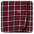 KicKee Pants Swaddle Blanket Crimson 2020 Holiday Plaid