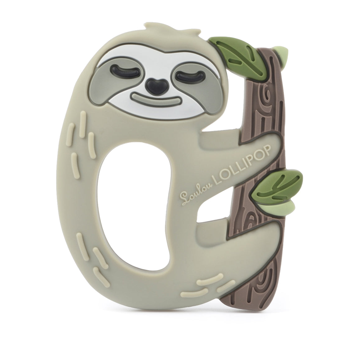Loulou Lollipop Silicone Baby Teether Sloth