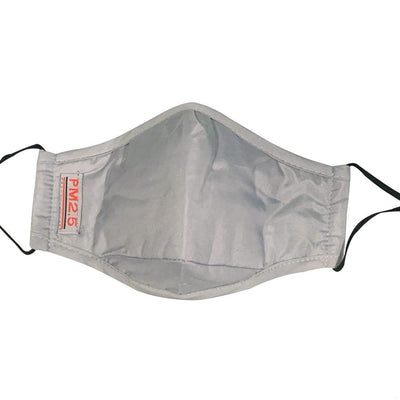 Reusable Adult Cloth Face Mask with Filter - Grey