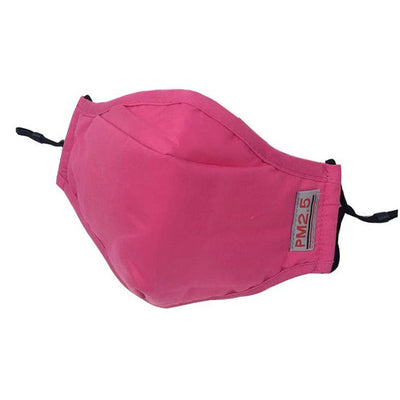 Reusable Adult Cloth Face Mask with Filter - Fuchsia