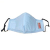 Reusable Adult Cloth Face Mask with Filter - Sky Blue