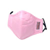 Reusable Adult Cloth Face Mask with Filter - Pink