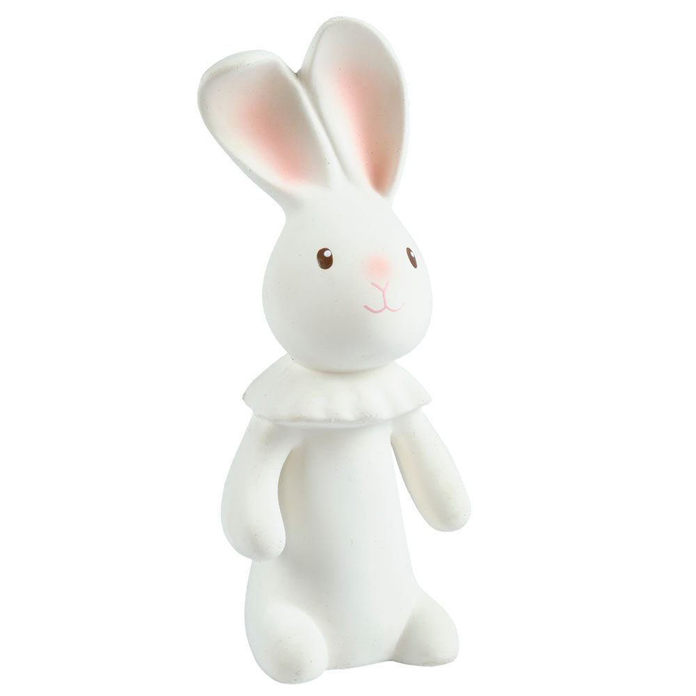 Tikiri Toys Natural Rubber Squeaky Toy - Havah the Bunny