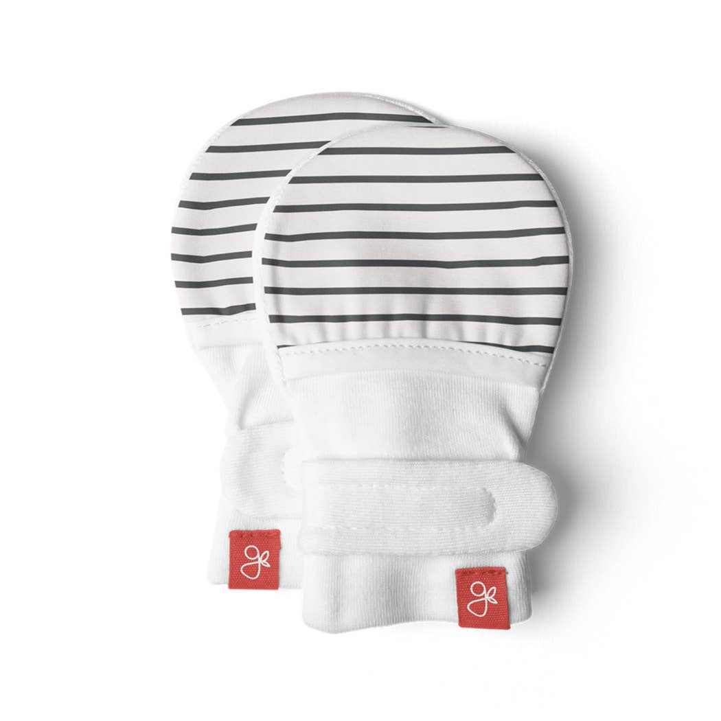 Goumikids Stay On Baby Mittens Stripe