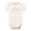 Tenth & Pine Organic Baby Short Sleeve Bodysuit - Sunkissed