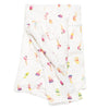 Loulou Lollipop Bamboo Muslin Swaddle Blanket - Ice Cream