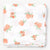 Little Blue Nest Organic Cotton Muslin Swaddle Blanket - Peach Blossom