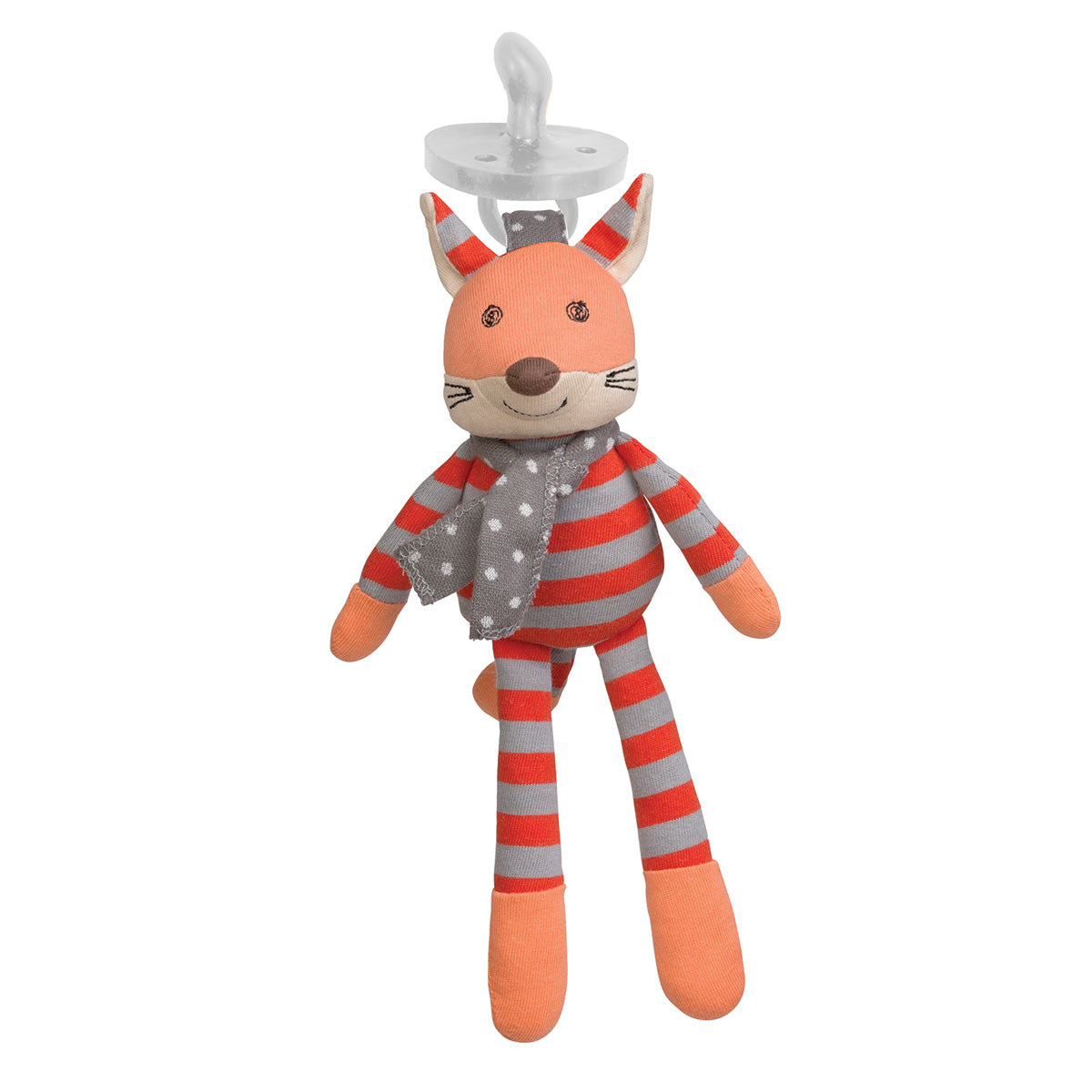Apple Park Organic Pacifier Buddy - Frenchy Fox