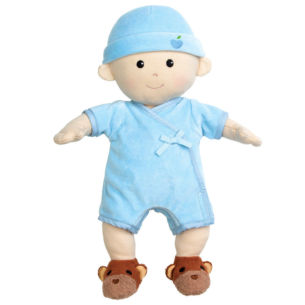 Apple Park Organic Baby Doll - Baby Boy