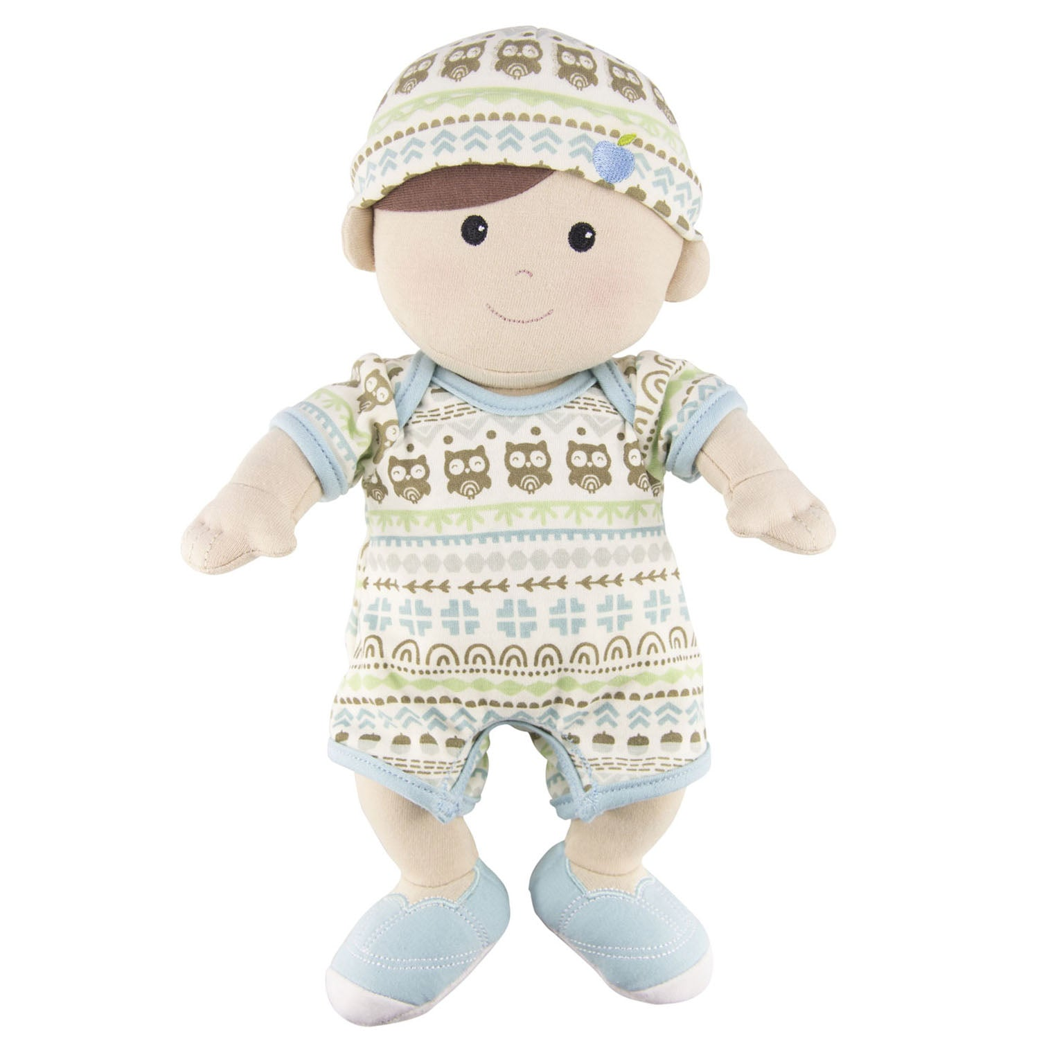 Apple Park Organic Toddler Boy Doll