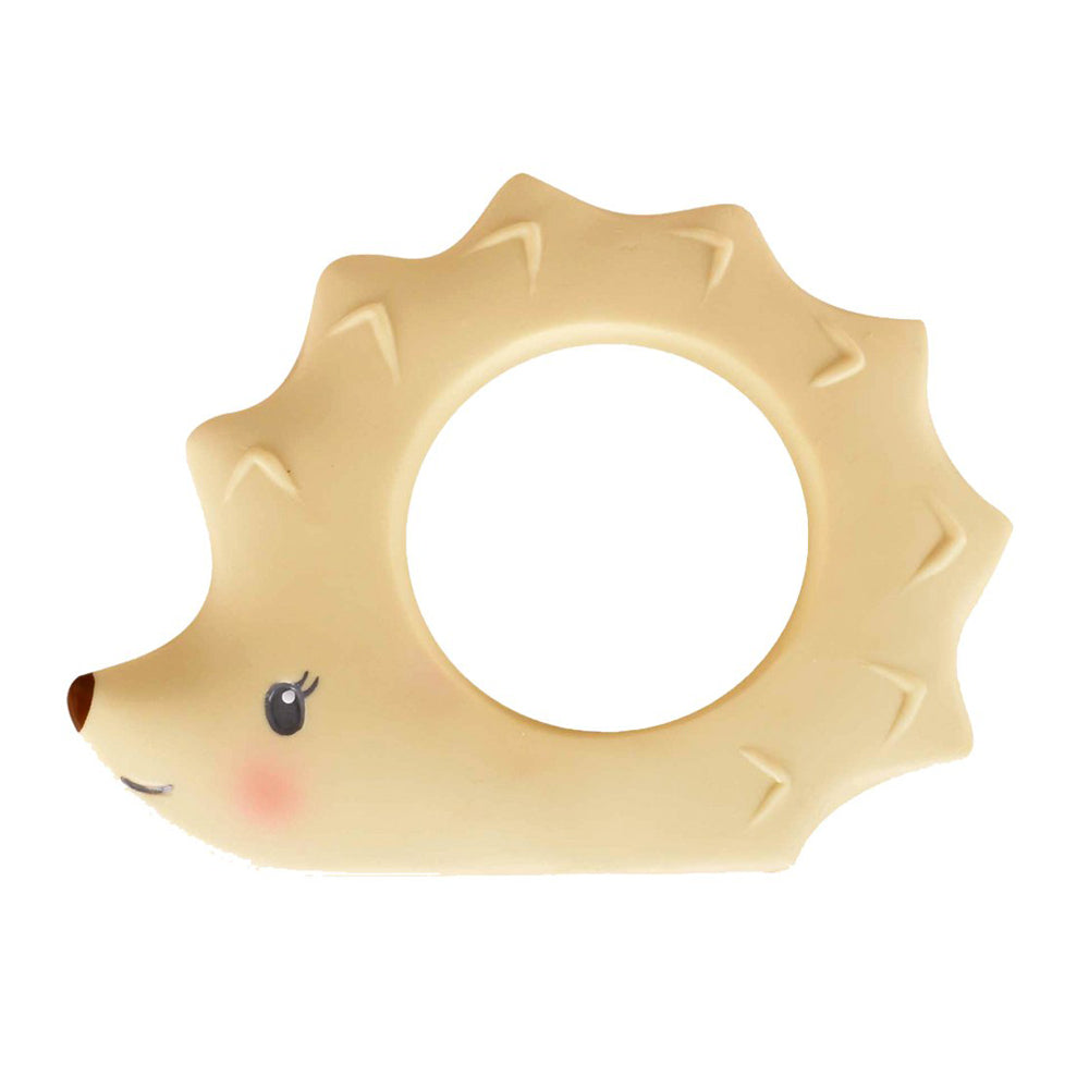 Tikiri Toys Natural Rubber Teether - Ethan the Hedgehog