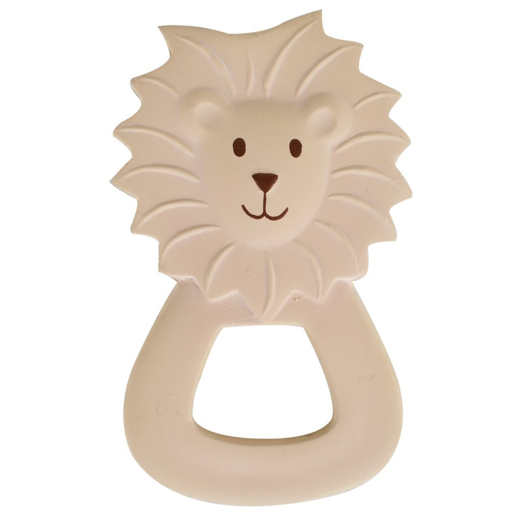 Tikiri Toys Natural Rubber Teether - Lion