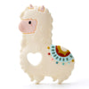 Loulou Lollipop Silicone Teether Llama