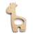 Cheengoo Giraffe Wooden Teether