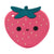 Loulou Lollipop Silicone Teether - Strawberry