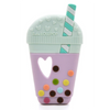 Loulou Lollipop Silicone Baby Teether - Bubble Tea
