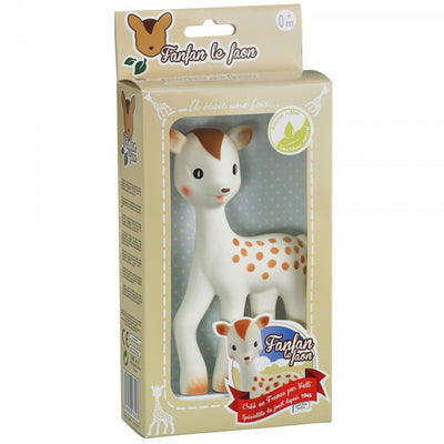 Vulli Natural Rubber Teether - Fanfan the Fawn
