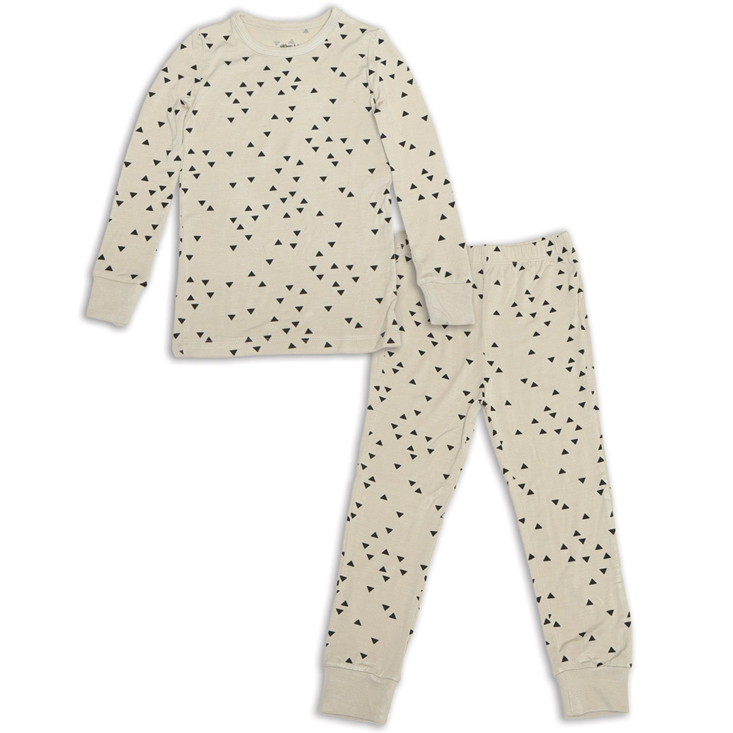 Silkberry Baby Bamboo Long Sleeve Pajama Set - Apex
