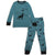 Silkberry Baby Bamboo Long Sleeve Pajama Set - Call of the Wild