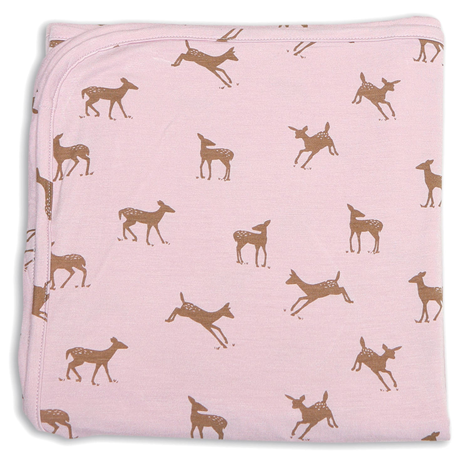 Silkberry Baby Bamboo Swaddle Blanket Autumn Deer