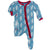 Kickee Pants Muffin Ruffle Footie - Blue Moon Ice Skater