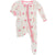Kickee Pants Muffin Ruffle Footie with Zipper - Natural Ice Cream Shop