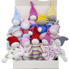 Under the Nile Organic Scrappy Buddy Lovey (Assorted Colors) - 1 Buddy Toy
