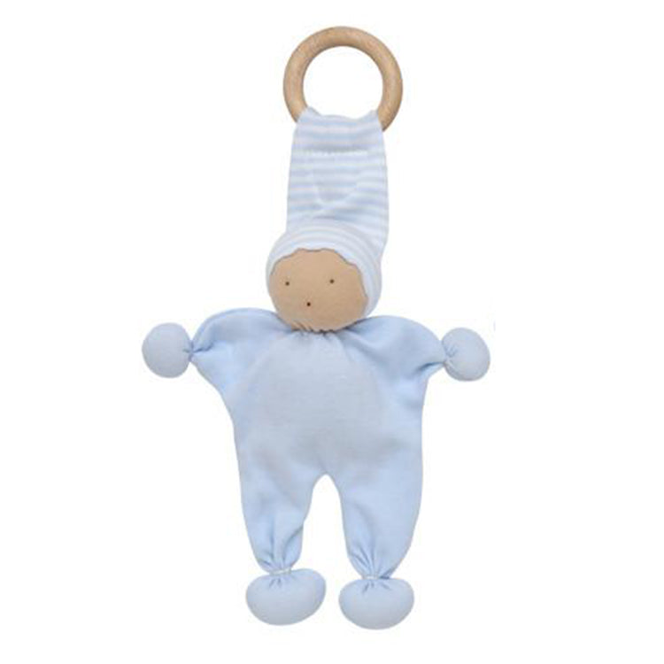 Under the Nile Organic Baby Teething Toy - Blue
