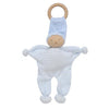 Under the Nile Organic Baby Buddy Teething Toy - Blue Stripe