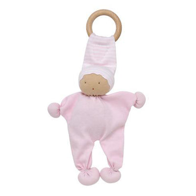 Under the Nile Organic Baby Buddy Teething Toy - Pink