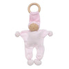 Under the Nile Organic Baby Buddy Teething Toy - Pink Stripe