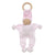 Under the Nile Organic Baby Teething Toy - Pink Stripe