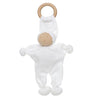 Under the Nile Organic Baby Buddy Teething Toy White
