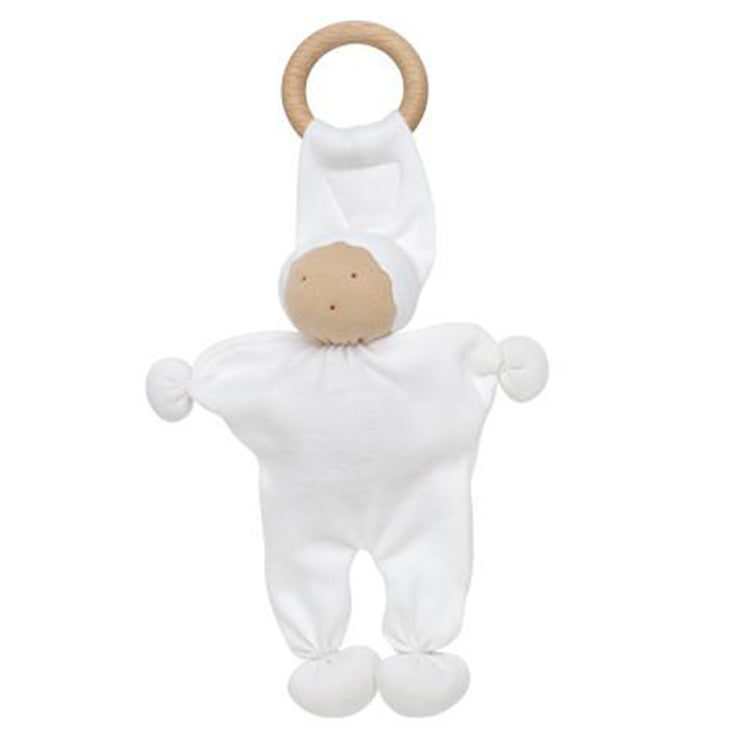 Under the Nile Organic Baby Teething Toy White