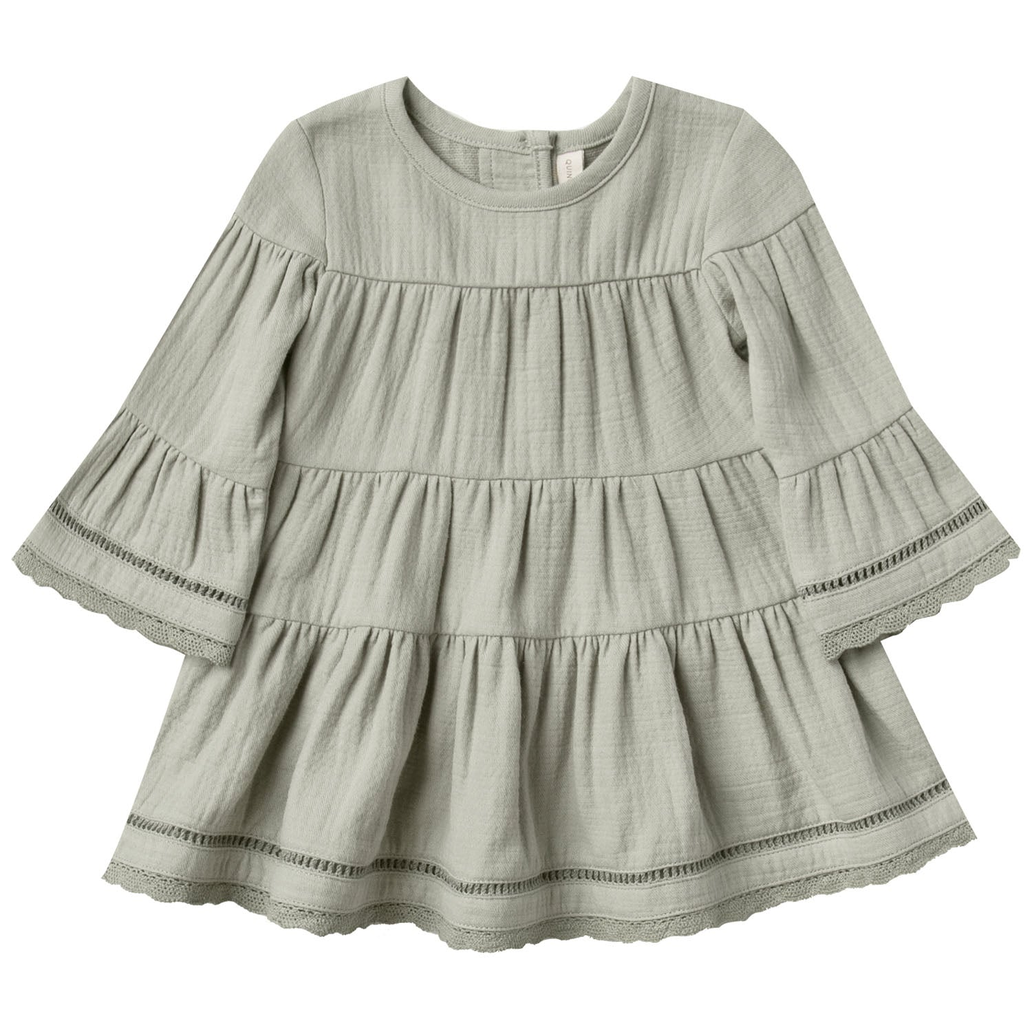 Quincy Mae Organic Belle Dress Sage