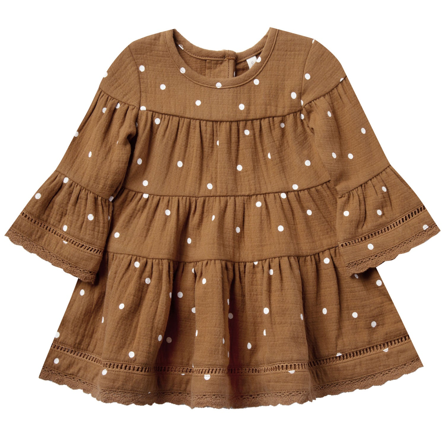 Quincy Mae Organic Belle Dress Walnut