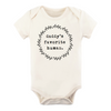 Tenth & Pine Organic Baby Short Sleeve Bodysuit - Daddy's Favorite Human
