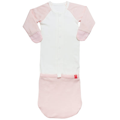 Goumikids Jamms Baby Gown - Pink Drops