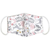 Kids Organic Cotton Face Mask - Pink Deer