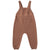 Quincy Mae Organic Knit Overall Clay