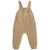 Quincy Mae Organic Knit Overall Honey